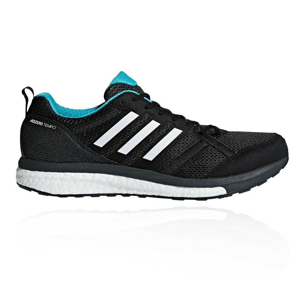 61b24859d2a1e Adidas Mens Adizero Tempo Tempo Tempo 9 Running shoes Trainers Sneakers  Black Sports dea484
