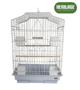 HERITAGE-WINDSOR-X-LARGE-BIRD-CAGE-47x36x52CM-FINCH-CANARY-COCKATIEL-BIRDS-HOUSE
