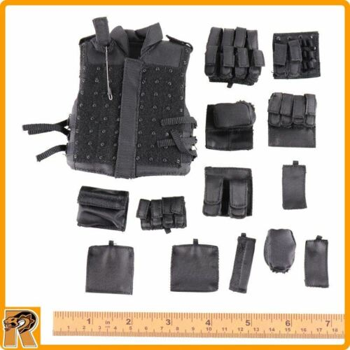1//6 Scale-DID Action Figures Années 90 Special Weapons and Tactics Kenny-GILET /& POCHETTES Set