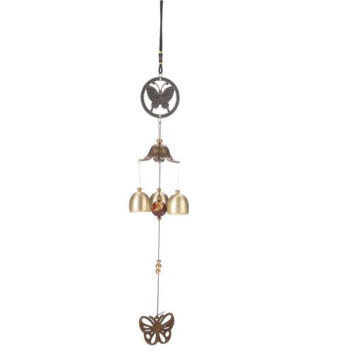 Groß Windspiele Außen Glocken Kupfer Rohre Hof Garten Heim Dekor Ornament Set