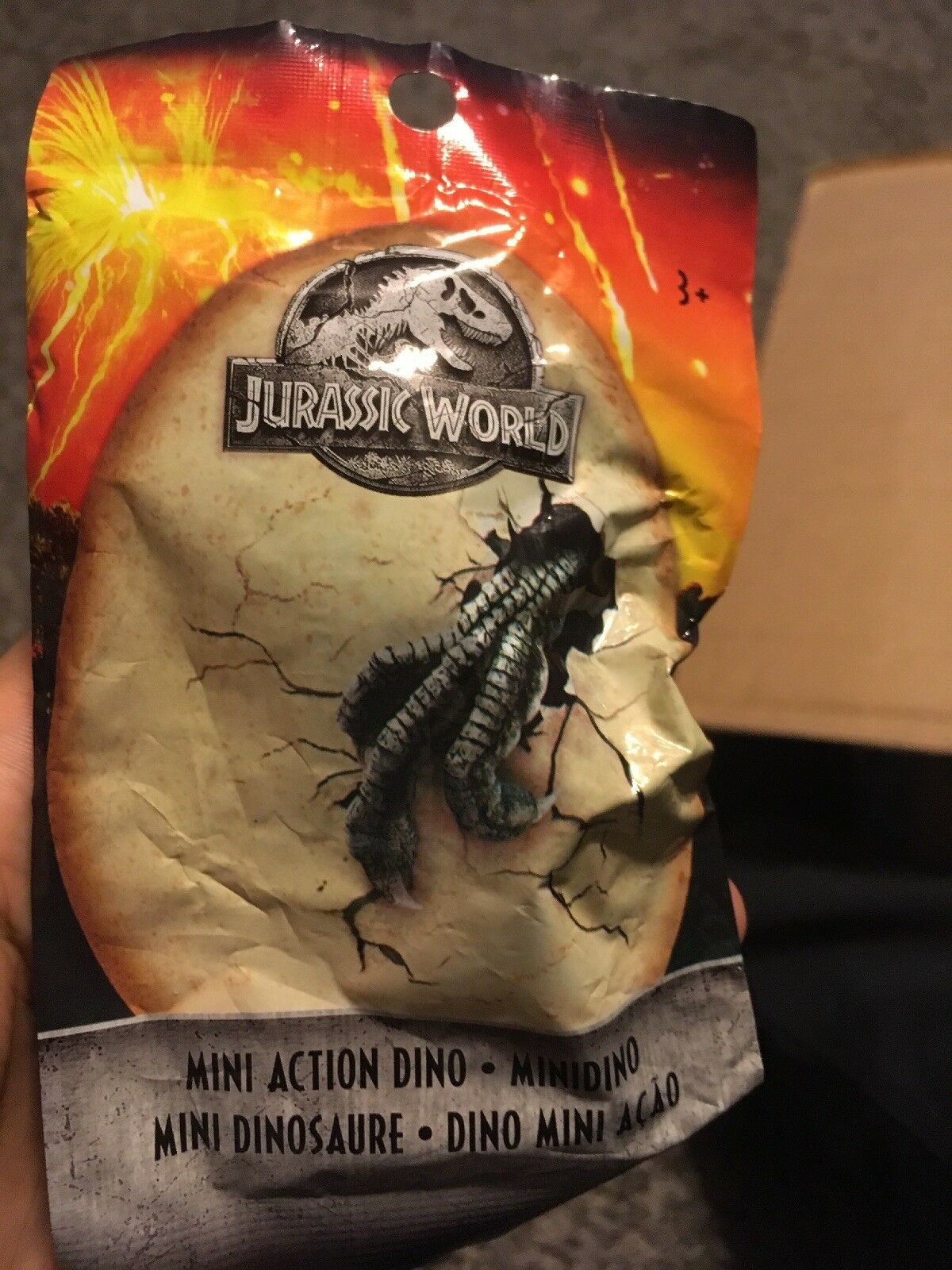 Mattel Jurassic World Mini azione Dinos Wave 3 3 3 nuovo Molds MISB Never Opened. 2018 d58d32
