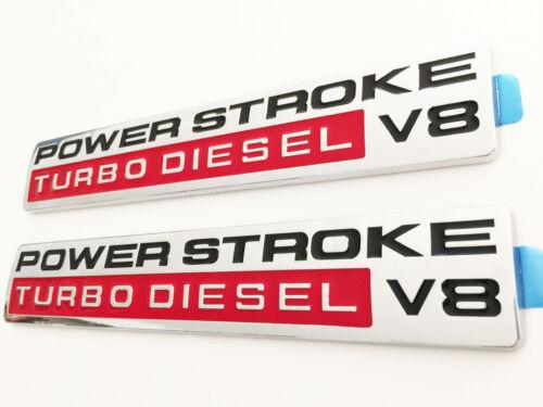05-10 Super Duty Power Stroke Turbo Diesel V8 Door Emblems F250 F350 2