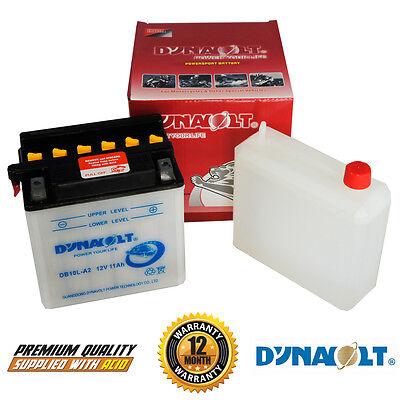 Dynavolt YB10L-A2 YB10LA2 Motorcycle Battery Yamaha XV125 Virago 97-01