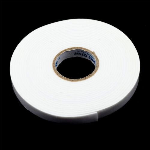 12mm 5M starkes Klebeband Schaumstoff doppelseitiges Pad für Befestigungs UJ B