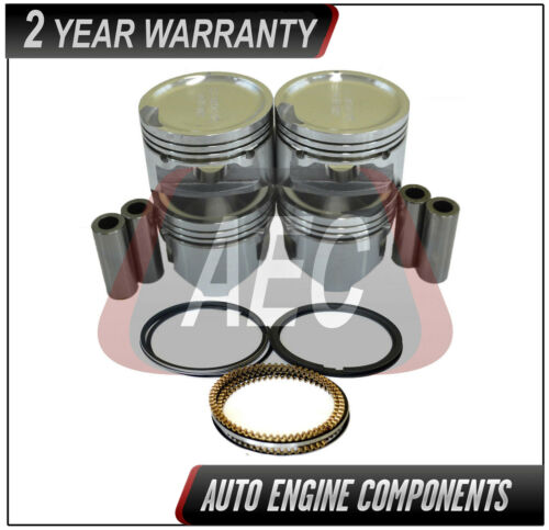 Piston /& Ring Fits Hyundai Atos 1.0 L G4HC SOHC SIZE STD