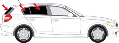 AUTO protezione solare vetri-tinta finale PARASOLE BMW 1 e87 5-tür BJ 04-11