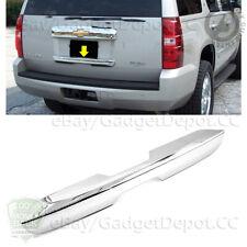 For 2007 2014 Chevrolet Tahoe Suburban Chrome Lower Tailgate Cover Fits 2007 Chevrolet Suburban 1500