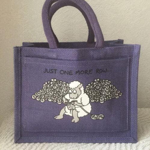 Vanessa Bee Designs lilas petit projet sac Just One Plus rangée.