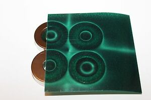 Magnetic Field Viewer Film 152mm x 152mm, 6in x 6in USA film sent FREE worldwide
