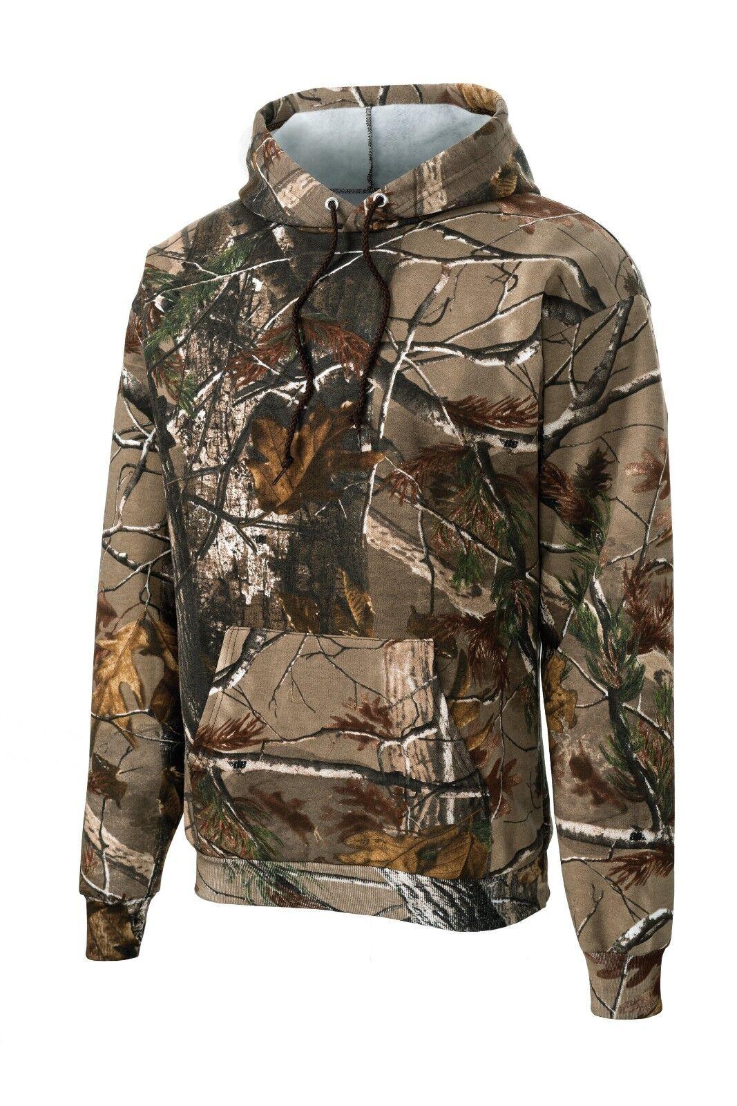 Russell Outdoors Men's AP Sweatshirts Hoody Realtree Crew xtra camo Sport Hooded
