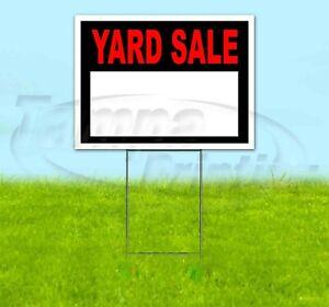 HALLOWEEN STORE 18x24 Yard Sign Corrugated Plastic Bandit Lawn Business USA