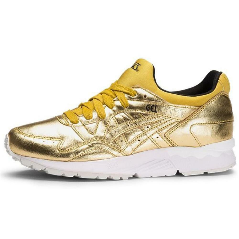 Zapatos promocionales para hombres y mujeres Asics Gel-Lyte V Champagne