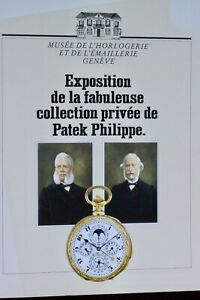 Rare-1989-vintage-Patek-Philippe-136-page-book-showing-160-wrist-pocket-watches