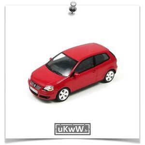 Minichamps 1/43 - Vw Volkswagen Polo 2006 Rouge
