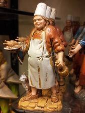 1 pastore cuoco landi 10 cm costumi storici pastori, presepe shepherd crib