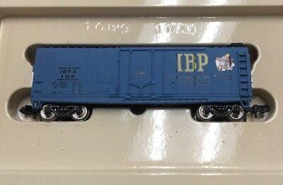 Bahmann Ibp 108 Train Car Laat Onze Grondstoffen Naar De Wereld Gaan Schaal H0