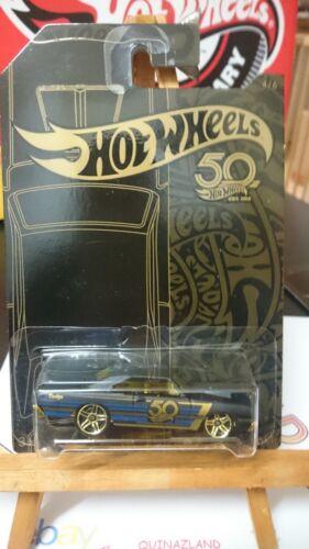 N9 Hot Wheels 50 Th Anniversary Black /& Gold /'68 Dodge Dart