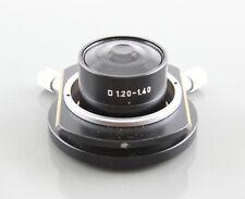 Leitz Microscope D 120 140 Oil Dark Field Condenser