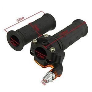 7/8'' Twist Throttle Grips Twist Cable For ATV Quad Pit Dirt Bike 90/110/125CC