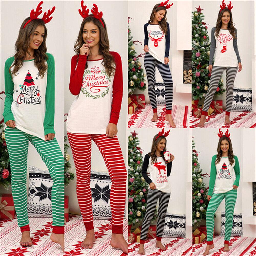 Damen Christmas Neu Product Zweiteiliger Pyjama-Anzug Passen