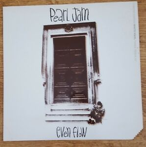 PEARL-JAM-Even-Flow-Limited-Edition-12-034-white-vinyl-Never-Played
