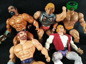 Masters-of-the-Universe-He-Man-Prince-Adam-Fisto-Jitsu-Tri-Klops-1983-VIntage