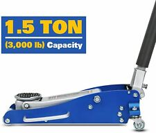 15 Ton Low Profile Hydraulic Aluminum Racing Floor Jack Rapid Pump Lift Car