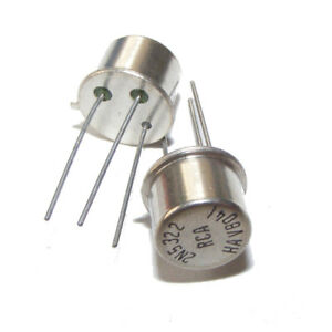 2n5323 RCA si pnp transistor 70v 2,0a 10w to39 New Old Stock 2pcs