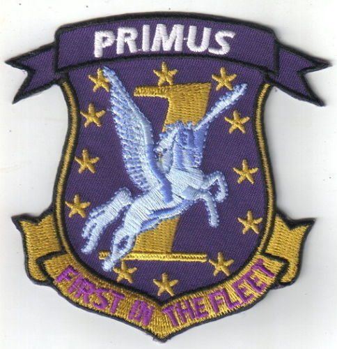 Kampfstern Galactica PRIMUS First in the Fleet patch