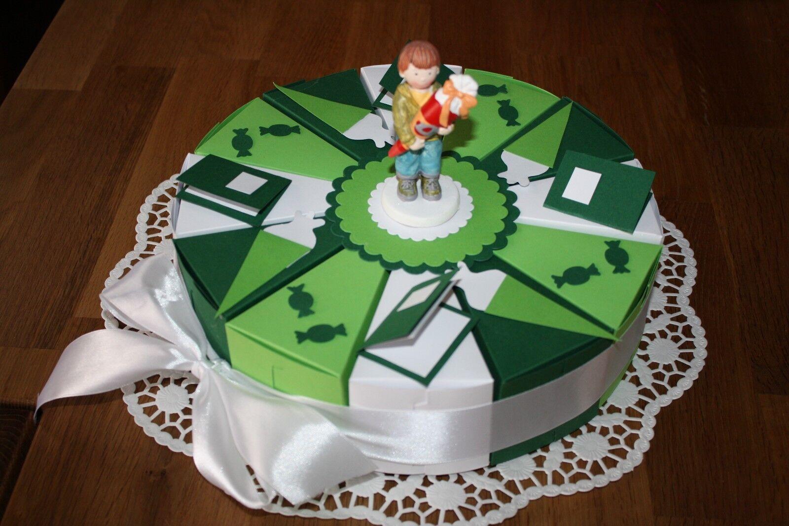 Einschulung, Schachteltorte,Torte, 12 Gastgeschenke, Neu & Handarbeit | Kaufen  | Angemessene Lieferung und pünktliche Lieferung  | Verbraucher zuerst