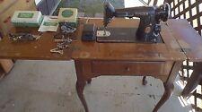 Vintage Singer Sewing Machine - Model 201 (Made in 1939)