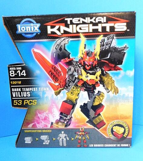 Ionix Tenkai Knights  13016 Dark Tempest TitanVilius  New Rare