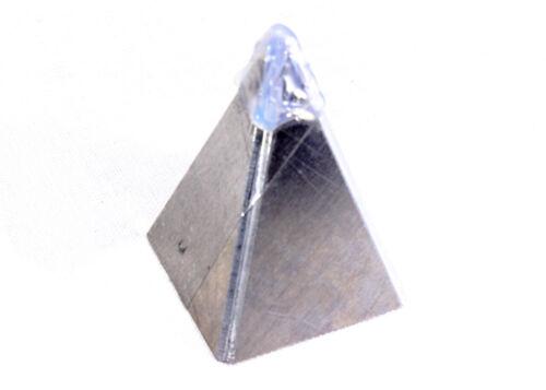 Nubian base 40x40mm Pyramide Mold METAL Casting Orgone orgonite réalisait Coated