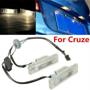 Rear-License-Plate-Light-With-Trunk-Assembly-Switch-Button-For-Chevrolet-Cruz-FE