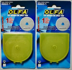 RB60-1 Olfa Rotary-Cutter-Klinge 60mm für Olfa RTY-3 in Plastikbox 1 Klinge.