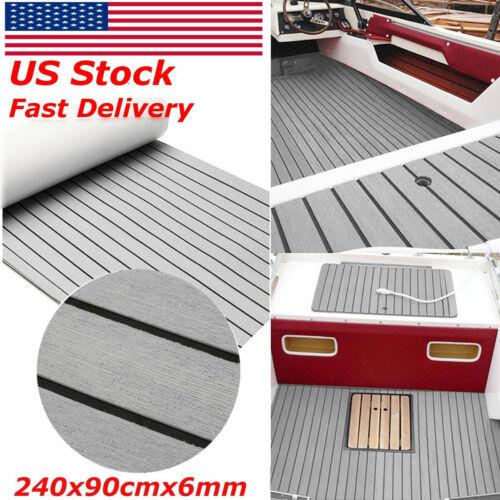 US Teak Decking Boat Flooring Marine Flooring EVA Foam Yacht Carpet Sheet Floor