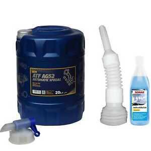 20L-mannol-Fluido-per-Cambio-Automatico-Atf-AG52-Special-Incl-Rubinetto