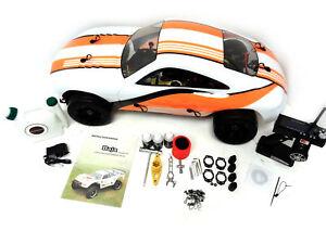 Details About 1 5 Rovan 360fc 36cc Gas Rtr Porsche 911 Race Car Hpi Baja 5b King Compatible