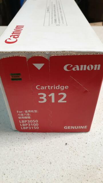 Genuine Canon Cart 312 for use in  Canon  LBP3050 LBP3018 LBP3150 Printers
