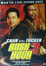 Brett Ratner's RUSH HOUR 3 (2007) Two-Disc Set Jackie Chan Chris Tucker SEALED