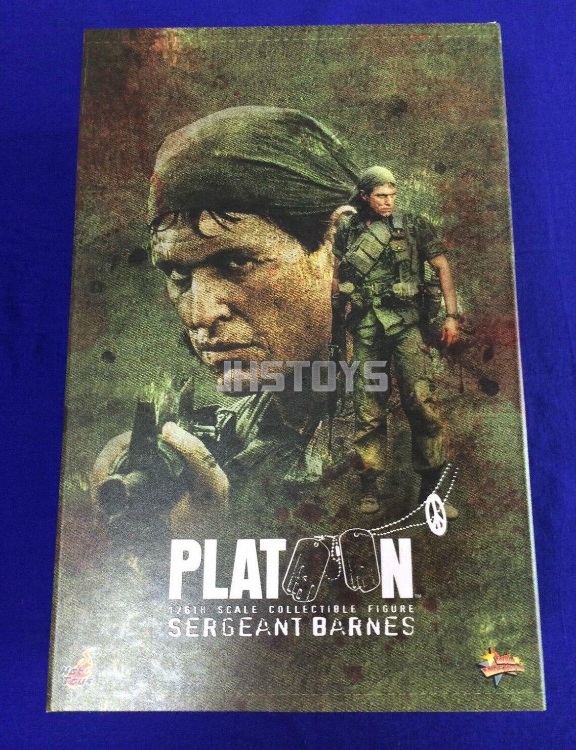 Hot Toys 1/6 Platoon Sergeant Bob Barnes MMS141