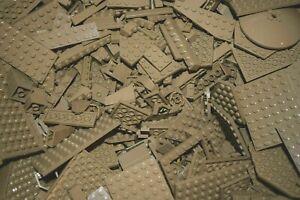1-100-POUNDS-Dark-Tan-LEGOS-Mix-bulk-lot-lbs-city-Parts-Pieces-Bricks