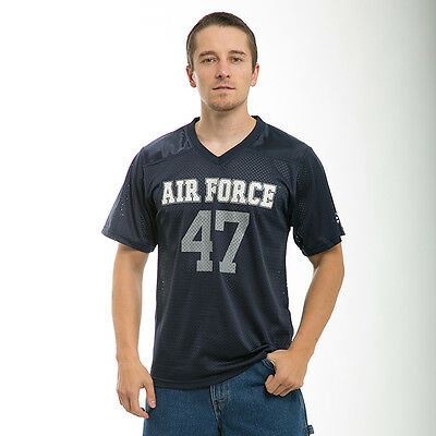 United States US Air Force USAF Military Applique Basketball Jersey ~ L XL 2XL