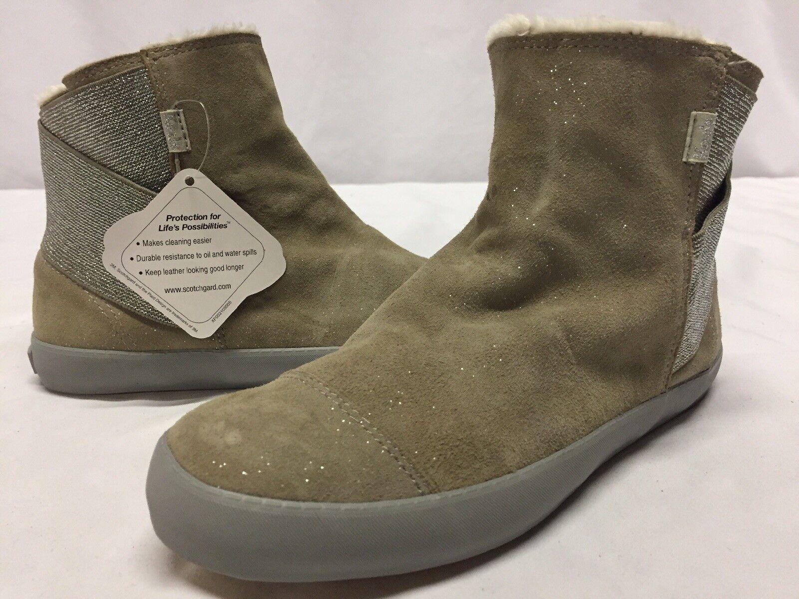 Para mujer botas Invierno Nieve Keds Crosstown, Brillo gris,