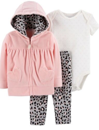 FREE POST Girls CARTERS 3 piece tracksuit warm set