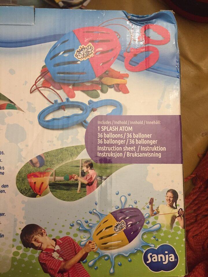 Andet legetøj, Splash Atom, SANJA