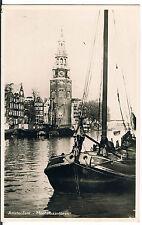 SPARO POSTCARD Amsterdam Montelbaantoren RP C1950.'S