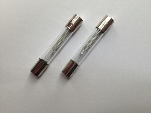 2x fusible pour micro-ondes 5 KV 0,7 A 700 ma haute tension sauvegarde HV 5000 V Fuse