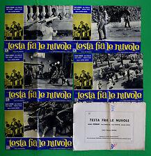 G96 LOTTO FOTOBUSTE TESTA FRA LE NUVOLE CEBRIAN MERCERO PERBELLINI FAGGIONI