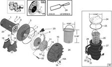 Starite P4E & P4EA Max-E-Glas  / Dura-Glas Pump Repair Kit 1998-Current